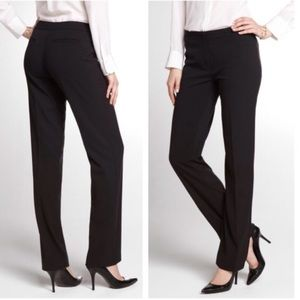 Tahari Pants - Tahari Black Textured Stripe Dress Pants T110